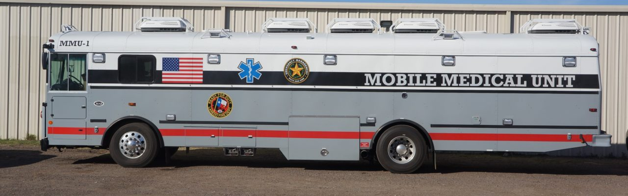 Photo: Mobile medical unit