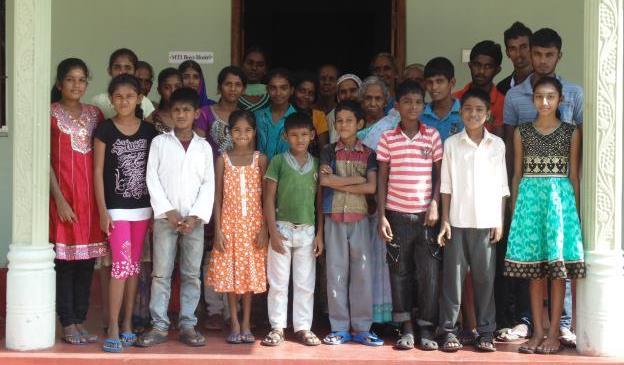 Photo: Children and families in Sri Lanka
