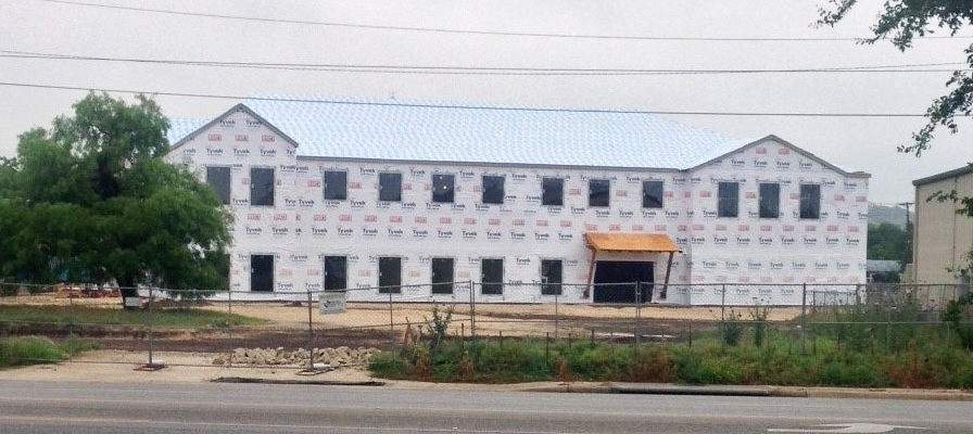 Photo: Hill Country Resource Center under Construction