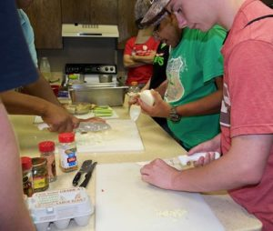 Photo: Abilene Youth Learning to Cook
