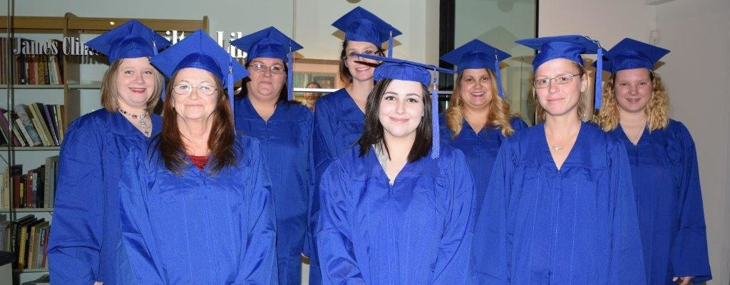Photo: Graduates from Project HOPES