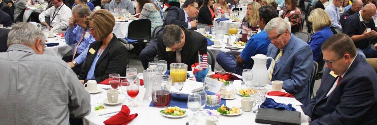Photo: Abilene Dignitaries at Dinner