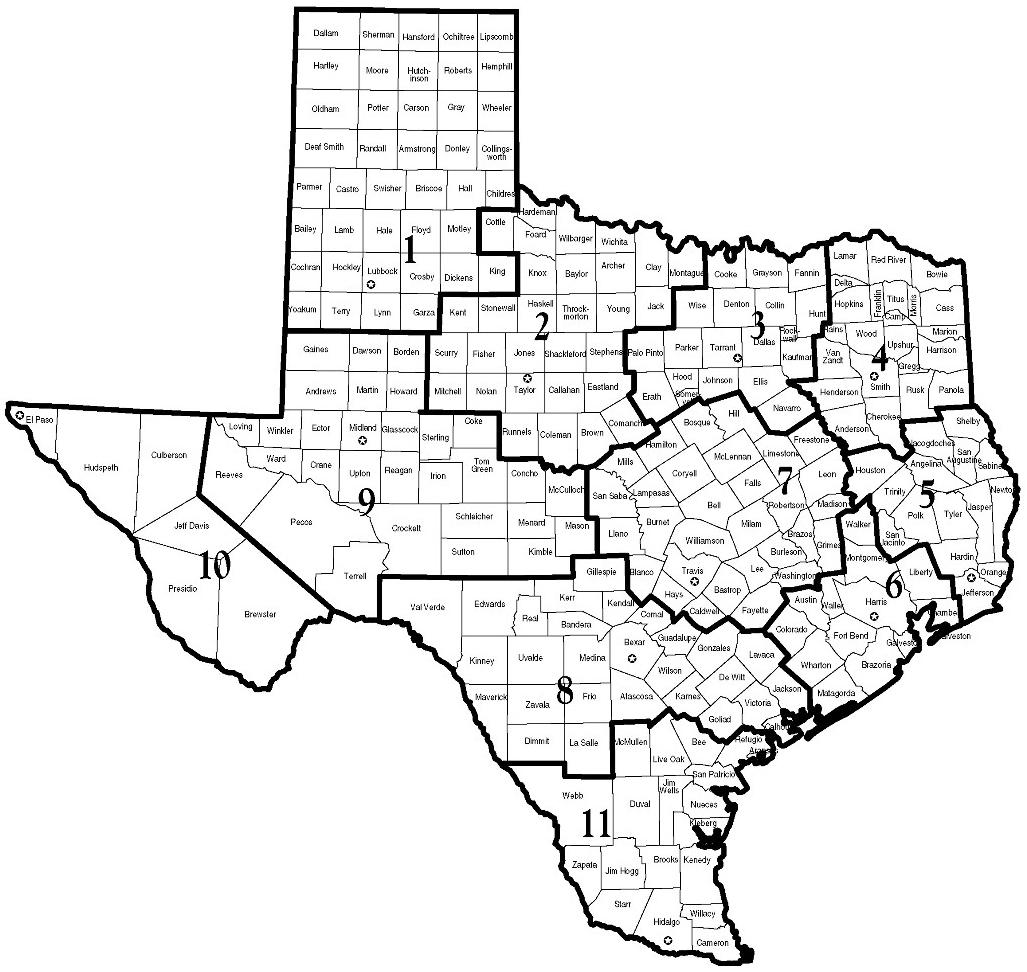 Map Of Texas Universities.Regional Colleges Universities Discover Bcfs