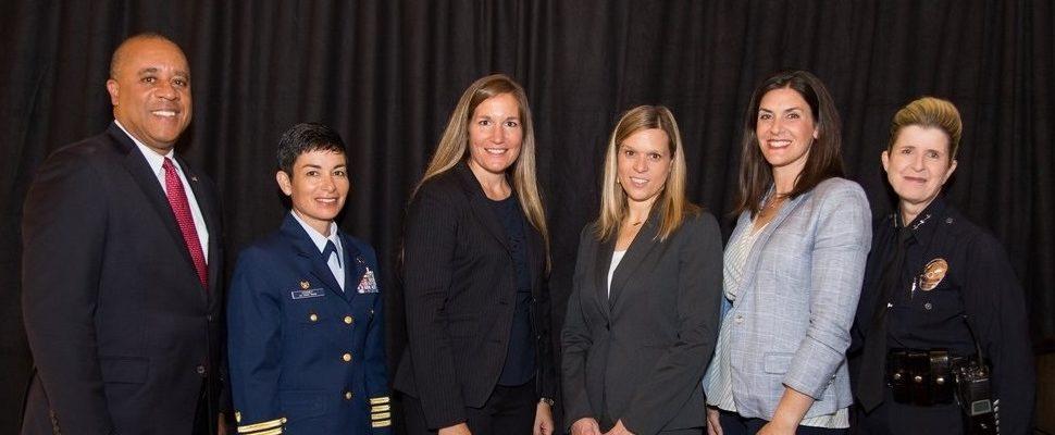 Photo: Kari Tatro with Panel Participants
