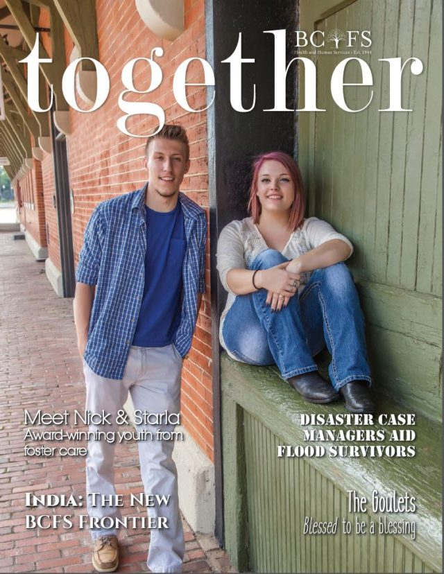 BCFS Together Magazine Cover