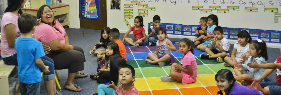Photo: Head Start Classroom with Students