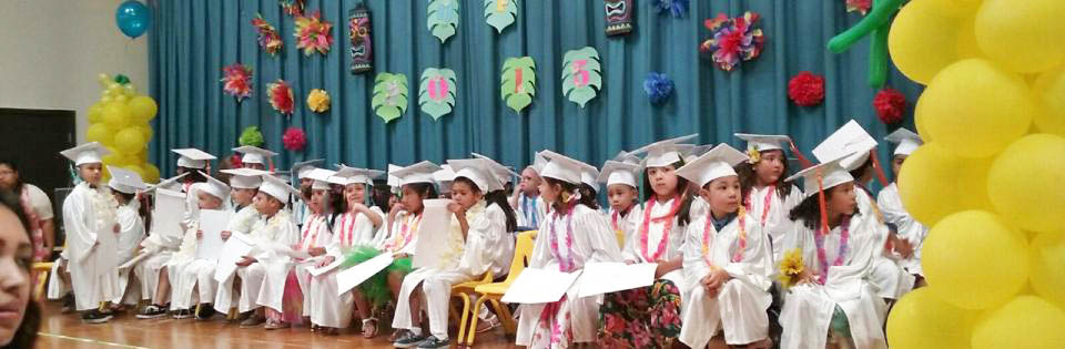 Photo: Students at Head Start Graduation