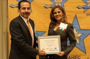 Photo: Araceli Award Presentation