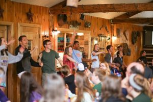 Photo: Youth Group performs at Silver Cliff Ranch